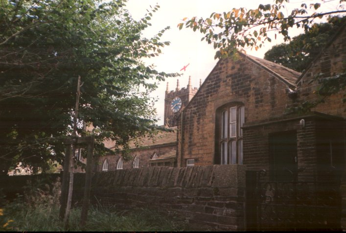 A view of Haworth Church